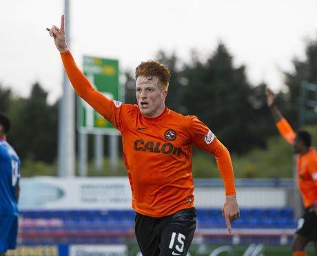 Dundee United's Simon Murray