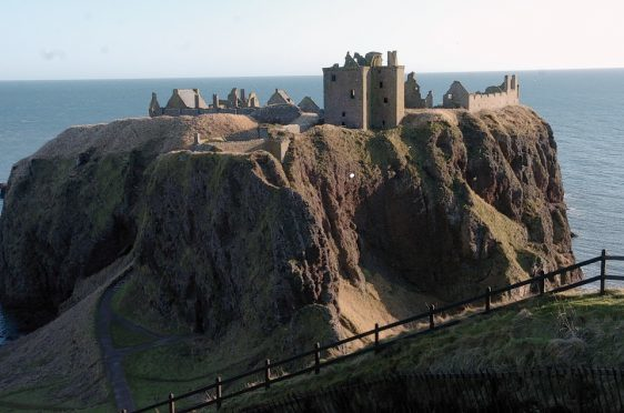 Dunnottar Castle enjoyed a record year for visitors last year.