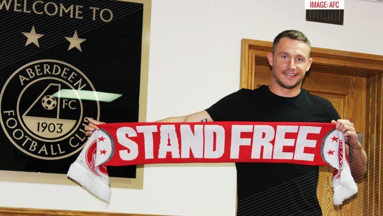 Callum Morris has signed for Aberdeen