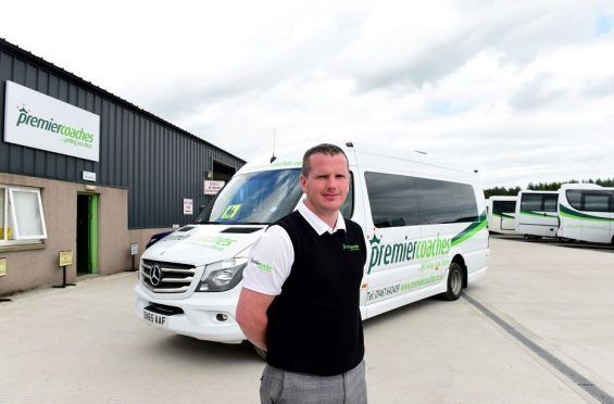 Alan Findlater, managing director of Premier Coaches