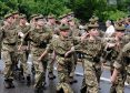 Armed Forces Day Parade on Union Street