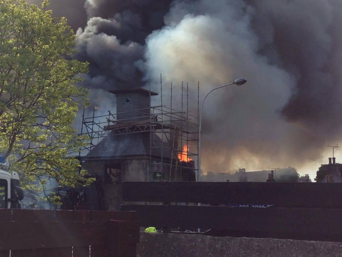 Britannia Hotel fire