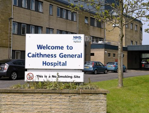Caithness General Hospital in Wick