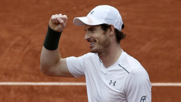 Andy Murray is the first British man through to the French Open singles final since 1937 (AP)
