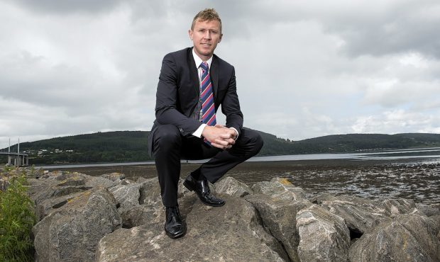 Caley Thistle manager Richie Foran