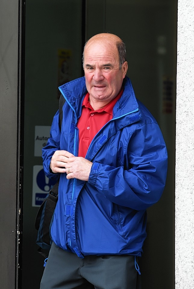 William Pirie at Aberdeen High Court after giving evidence