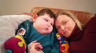 Joanne Jamieson with son, Rory