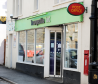 The post office in Fochabers is inside the Co-op in the town.