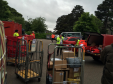 Postal workers being forced to sort mail in local car park