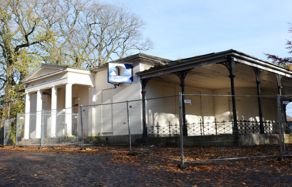 The A-listed building has lain vacant for around 18 years.