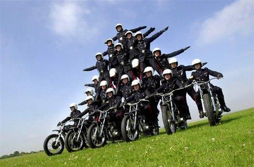 Caithness Show - White Helmets