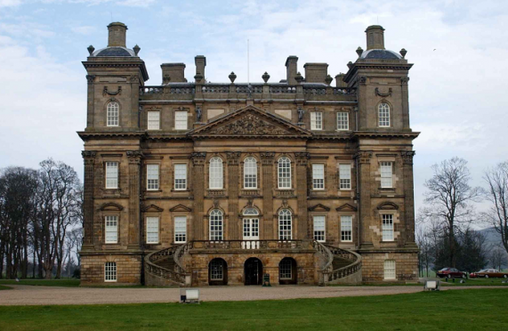 Duff House in Banff while feature on the new map