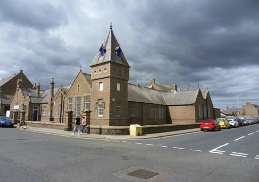 The council-owned Glenugie Business Centre in Peterhead is currently vacant.