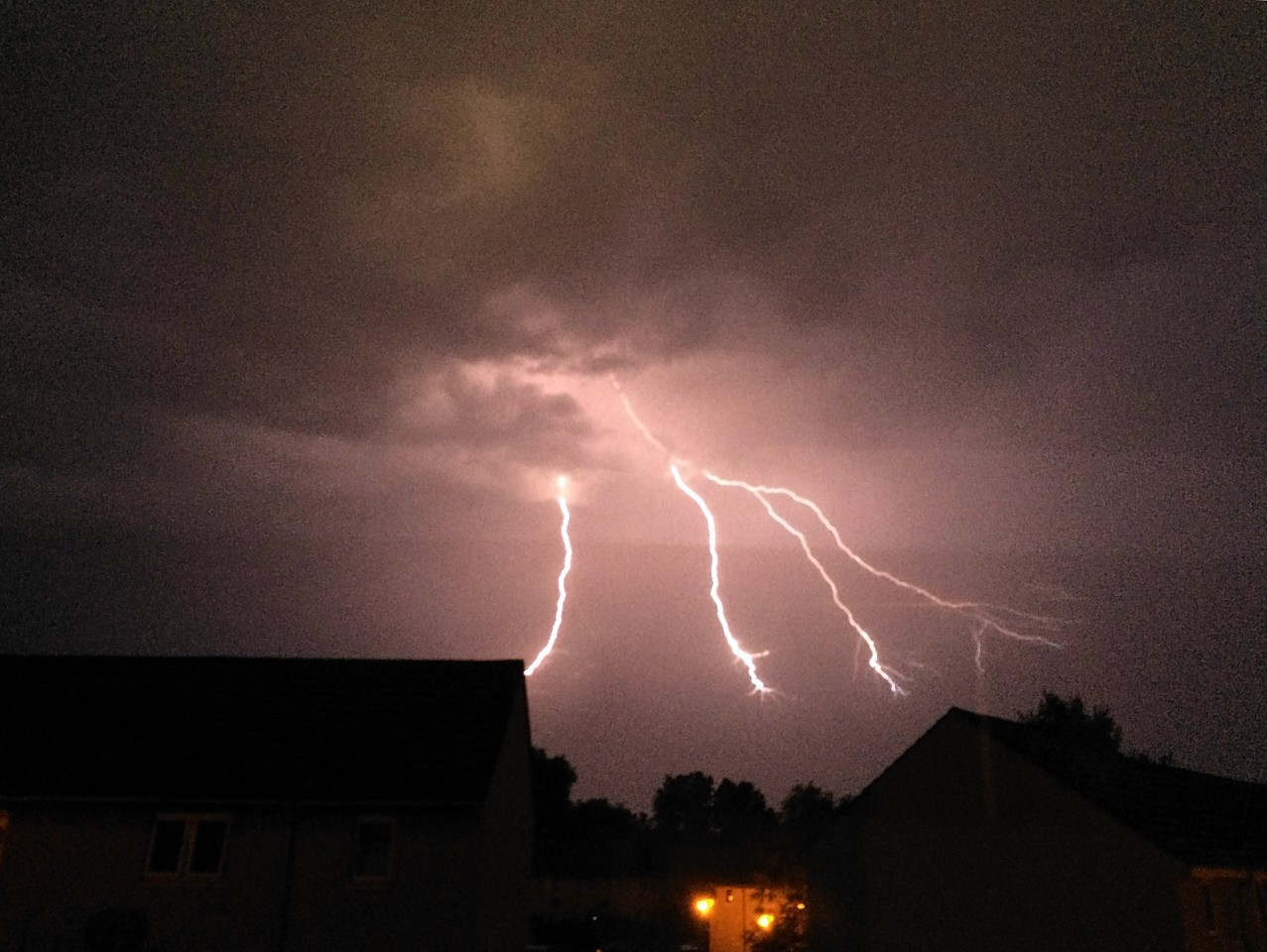 Inverness Pool Closed Because Of Lightning Strike Fears Press And Journal