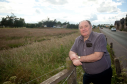 ANM Group want to develop the land on Linkwood Road in Elgin into a care home, houses and pub or restaurant. Pictured: Elgin City South councillor John Divers.