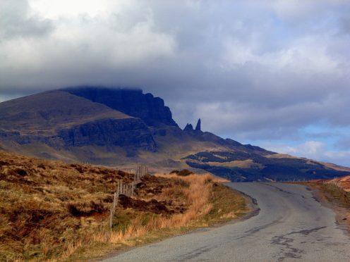 The Old Man of Storr is one of Skye's most popular tourist attractions
