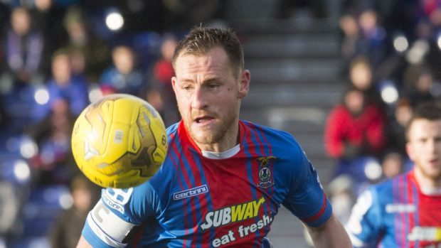 Gary Warren:  On the scoresheet for Caley Thistle.