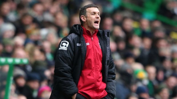 Jim McIntyre led Ross County to Premiership survival two years ago.