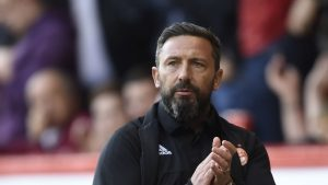 McInnes: Dons have been dealt 'toughest possible draw' in Europa League with Burnley heading to Pittodrie