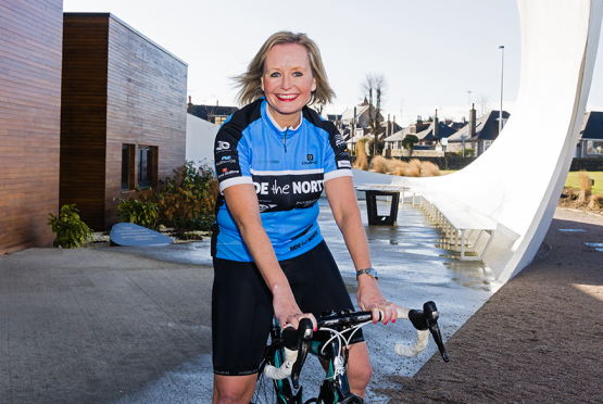 Alison Sellar is hoping to raise £20,000 for charity