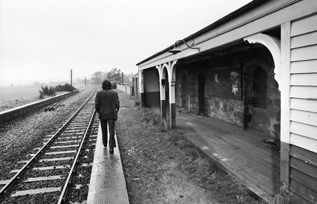 The former station in 1973