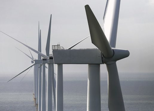 The research found that around a fifth of all of Scotland's wind power production was concentrated in the north-east area