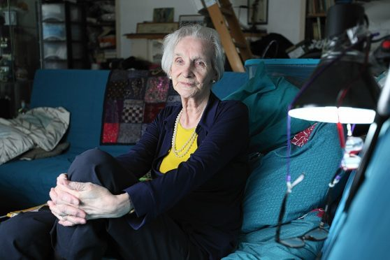 Bette McArdle suffers from cataracts