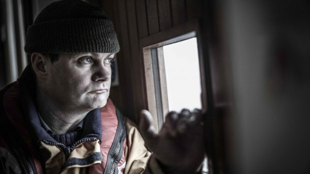 Islay lifeboat coxswain David MacLellan