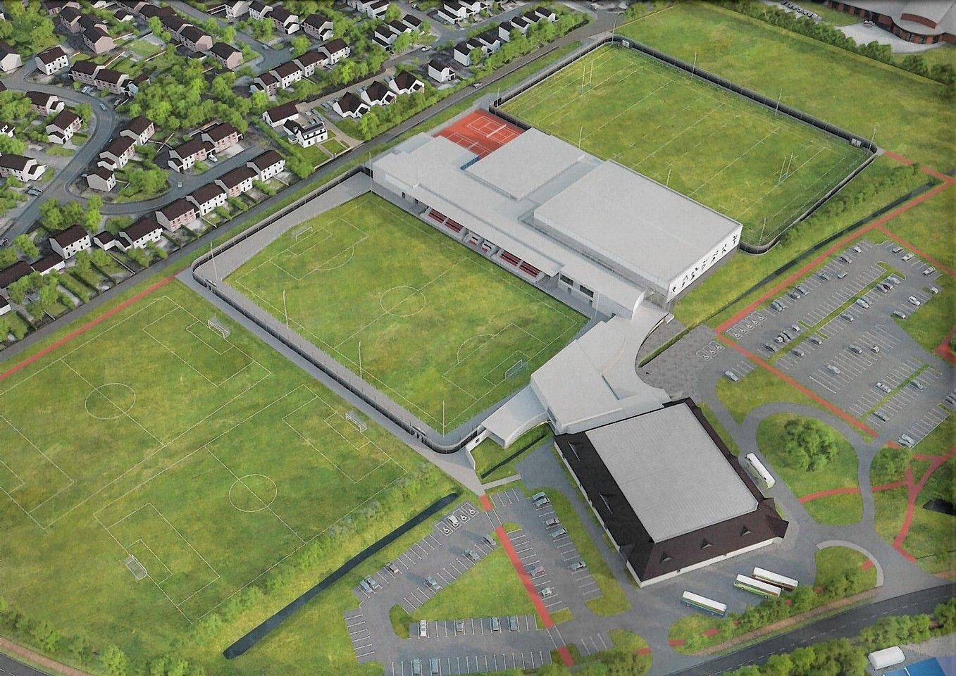 How the Garioch Sports and Community Centre would look