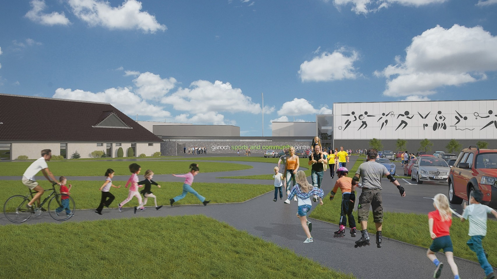 How the Garioch Sports and Community Centre could look