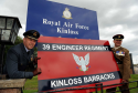JJ Johnston, former station commander at RAF Kinloss, pictured left, is now one of the leading figures in the fight to save the site as an army barracks. Lt. Col. Andy Sturrock, former OC 39 Engineer Regiment, right.
