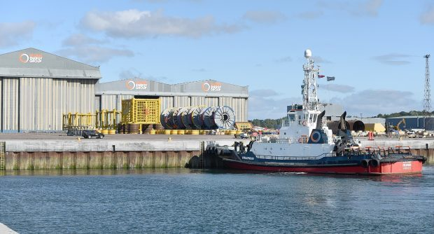Highlands and Islands Enterprise is being over funding for Nigg Energy Park.