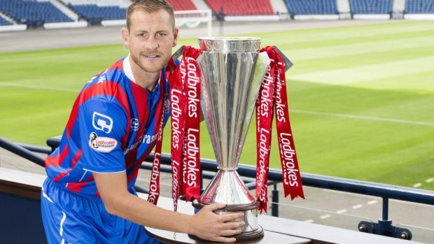Gary Warren is determined to help keep his club in the Scottish Premiership