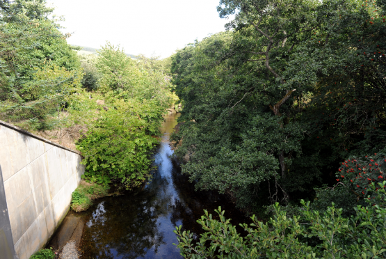 The proposed power line route from SHE Transmission will cross the River Fiddich, pictured, as well as the Isla and Deveron.