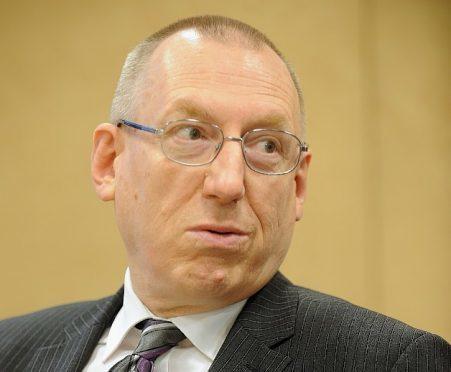 Highland Council finance director Derek Yule.
