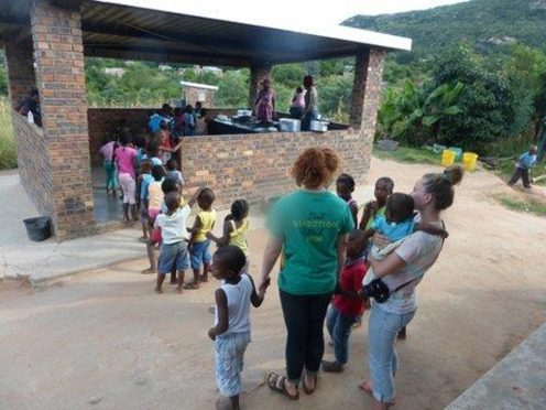 John and Elsie Tait from Cairnbulg made the trip to Swaziland this summer as part of a Christian mission to spread the word of God.