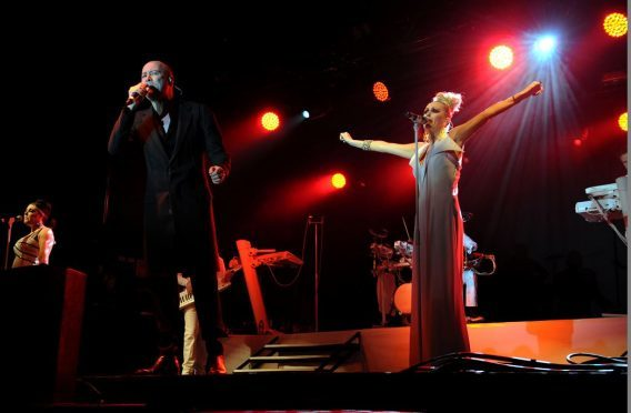 The Human League perform at the 2014 event. (Picture: Colin Rennie)