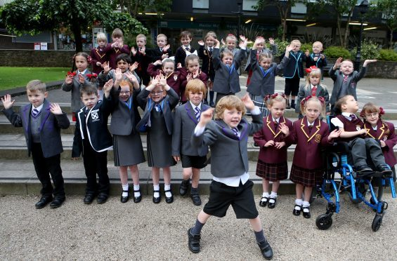 15 sets of twins start school