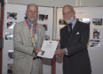 Jon Tyler received an award recently, presented by Prince Michael of Kent.
