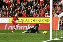 Jonny Hayes netted the opening goal for Aberdeen.