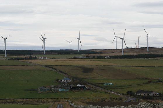 Baillie-Windfarm-near-Thurso.