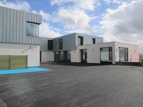 Part of the new joint campus in Caol