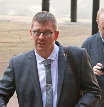 Iain Theyers of Inverness accused of being a bigamist