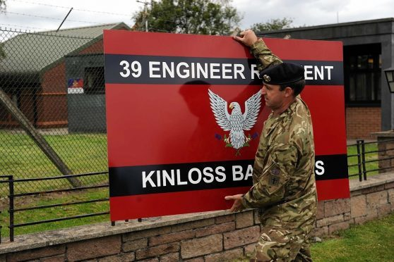 Concerns had been raised that Kinloss could close
