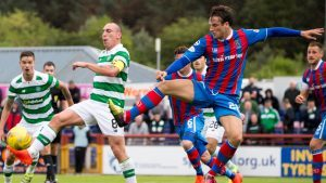 """""""What goes around comes around""""… Caley Jags defender taunts Celtic fans after Schalk 'dive'"""