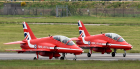 Typhoons from RAF Lossiemouth will join the Red Arrows on Exercise Eastern Venture.