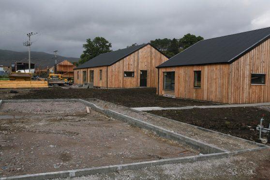 Lochaber Housing Association's new scheme in Strontian