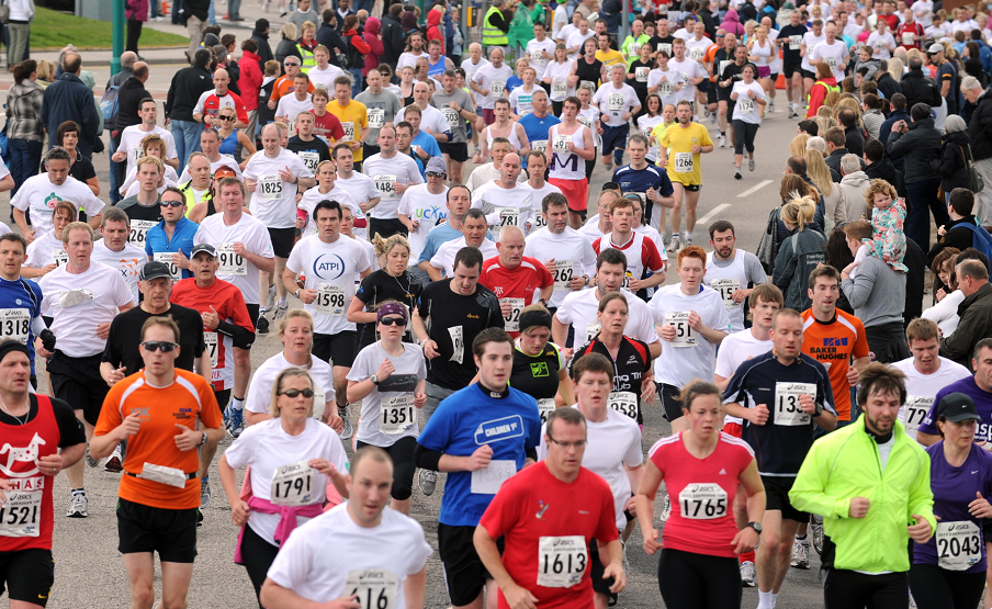 Thousands of runners and athletes could flock to the north-east