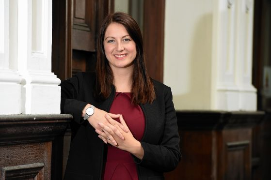 Sarah Medcraf, chief executive of Moray Chamber of Commerce.