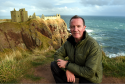 Dunnottar Castle custodian Jim Wands